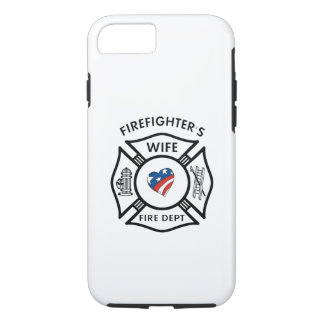Firefighter Wives USA iPhone 7 Case