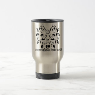 Firefighter wolf, ANSWERING THE CALL Travel Mug