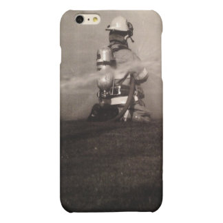 Firefighter Working iPhone 6 Plus Case
