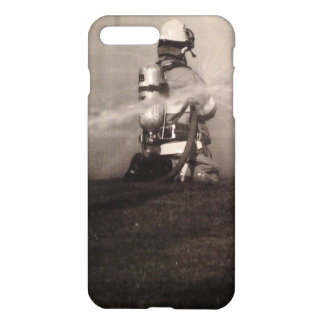 Firefighter Working iPhone 7 Plus Case