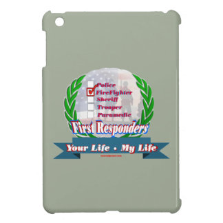 Firefighter_Your_Life iPad Mini Cases