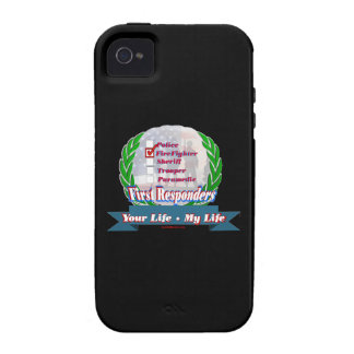Firefighter_Your_Life iPhone 4/4S Cases