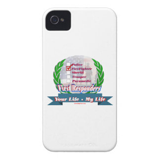 Firefighter_Your_Life iPhone 4 Case-Mate Cases