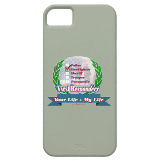 Firefighter_Your_Life iPhone 5 Cases