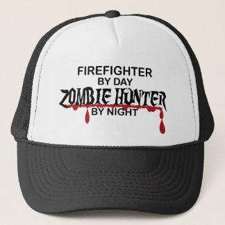 Firefighter Zombie Hunter Trucker Hat