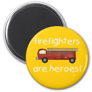 Firefighters Are Heroes T-shirts and Gifts Magnet