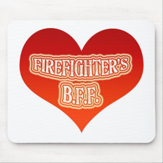 Firefighter's B.F.F. Mouse Pad