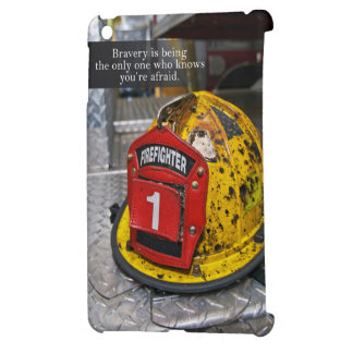firefighter's Bravery quote case iPad Mini Cases