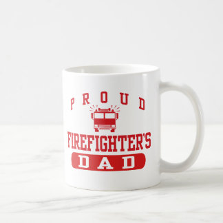 Firefighter's Dad Coffee Mug