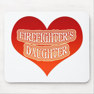 Firefighter's Daughter Mouse Pad