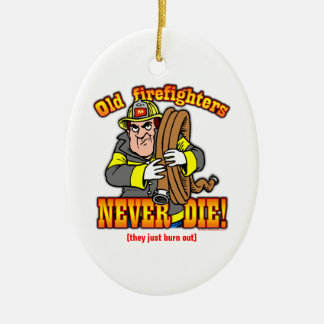 Firefighters Christmas Ornament