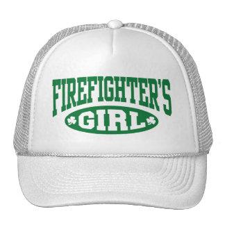 Firefighter's Girl Mesh Hats
