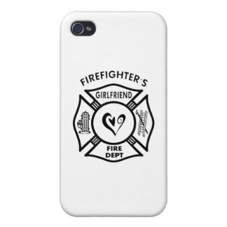 Firefighter's Girlfriend iPhone 4/4S Cases