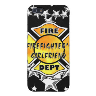 Firefighter's Girlfriend Tattoo iPhone 5 Covers