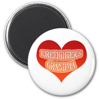 Firefighter's Grandma Magnet