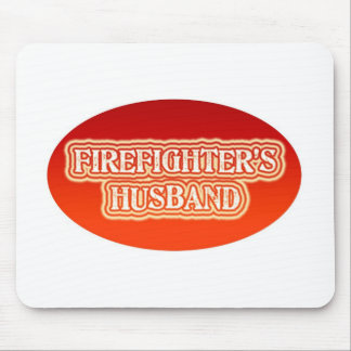 Firefighter's Husband Mouse Pad