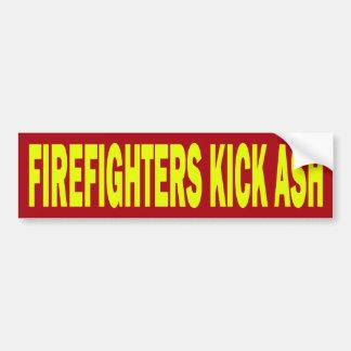FIREFIGHTERS KICK ASH - BUMPER STICKER