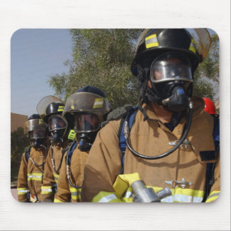 Firefighters Mouse Pad
