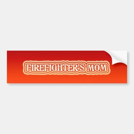 Firefighter's Mum Bumper Sticker