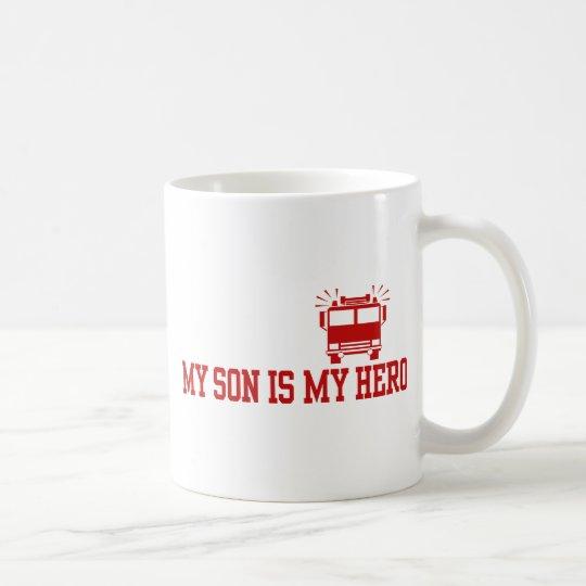 Firefighter's Mum Dad Coffee Mug