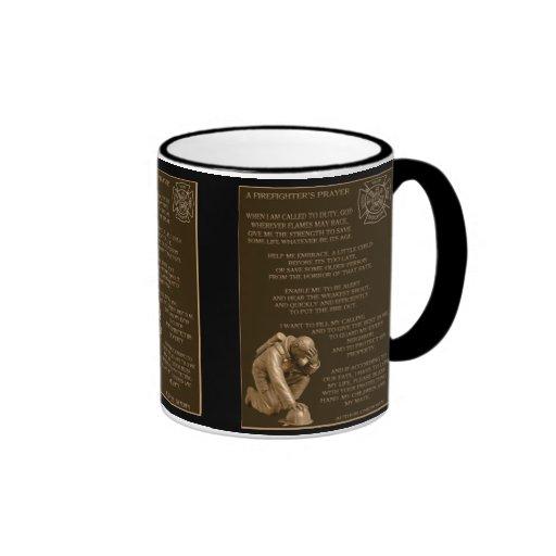 Firefighters Prayer Coffee Mugs