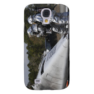 Firefighters respond to the scene galaxy s4 case