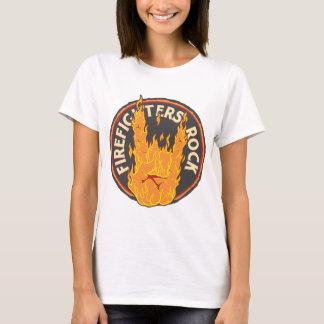 Firefighters Rock! T-Shirt