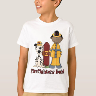 Firefighters Rule African American T-Shirt