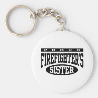 Firefighter's Sister Key Ring