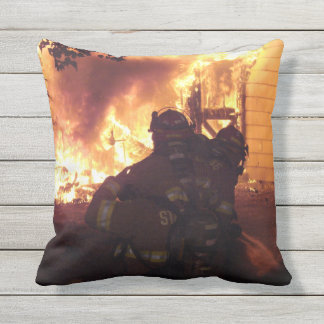 Firefighters Structure Fire Cushion