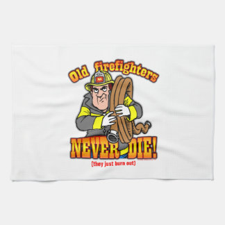 Firefighters Tea Towel
