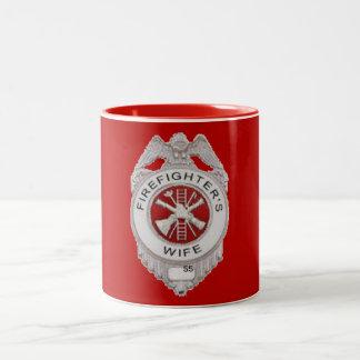 Firefighter's Wife Custom Coffee Mugs