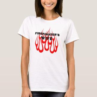Firefighter's Wife Flames T-Shirt