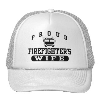 Firefighter's Wife Hats