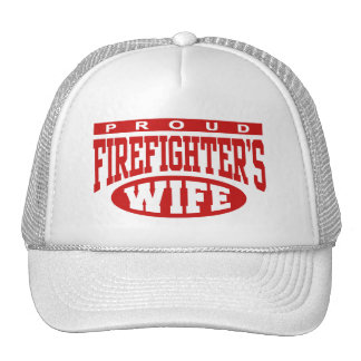 Firefighter's Wife Mesh Hat