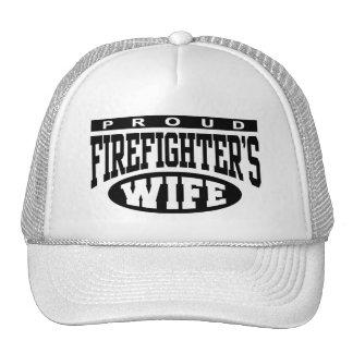 Firefighter's Wife Trucker Hats