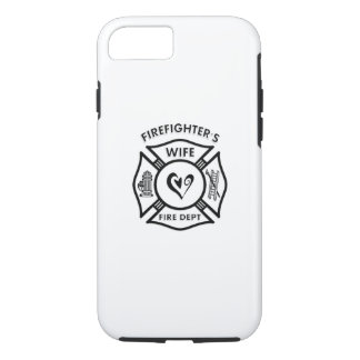 Firefighters Wife Heart iPhone 8/7 Case