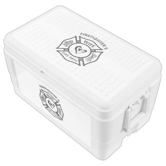 Firefighters Wife Igloo Chest Cooler