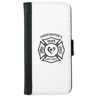 Firefighters Wife iPhone 6 Wallet Case