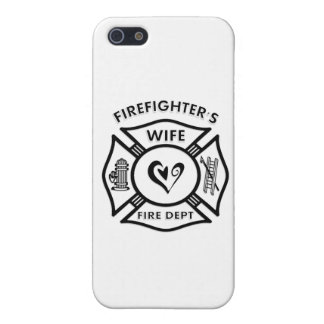 Firefighters Wife Case For The iPhone 5