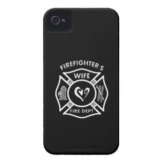 Firefighters Wife Maltese Heart iPhone 4 Case-Mate Case