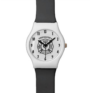 Firefighters Wife Wristwatches