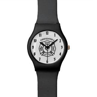 Firefighters Wife Wrist Watch