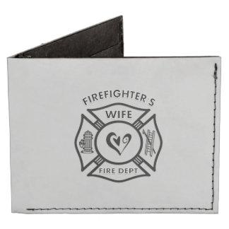Firefighters Wife Billfold Wallet