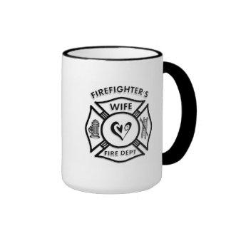 Firefighters Wife Coffee Mugs