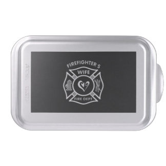 Firefighters Wife Cake Pan