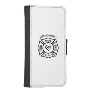 Firefighters Wife iPhone 5 Wallet