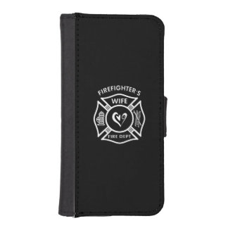 Firefighters Wife Phone Wallet