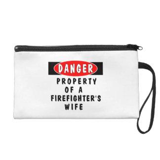 Firefighters Wife Property Wristlet Purses