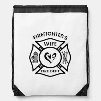 Firefighters Wife Rucksacks